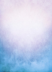 Fototapeta Mgła Blue Pink Fog Background/A background image of fog, mist, and clouds with a colorful blue to pink gradient. Image has significant texture and grain visible at 100%.
