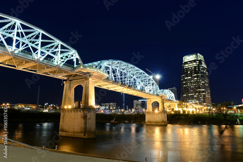 Photo  Shelby Bridge in Downtown Nashville