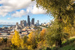 cityscape and skyline of seattle