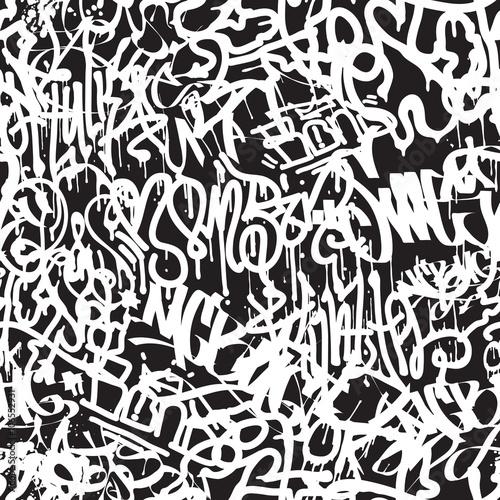 rozne-biale-napisy-w-stylu-graffiti-na-ciemnym-tle