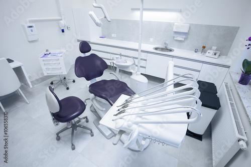 Modern dental practice. Poster