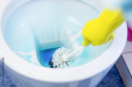 Zdjęcie XXL profesjonalne czyszczenie toalet