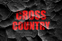 Grunge Cracked Cross Country S...