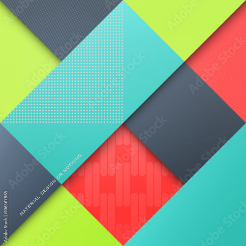 Abstract Colorful Background With Rhombus Shapes Vector Geometric