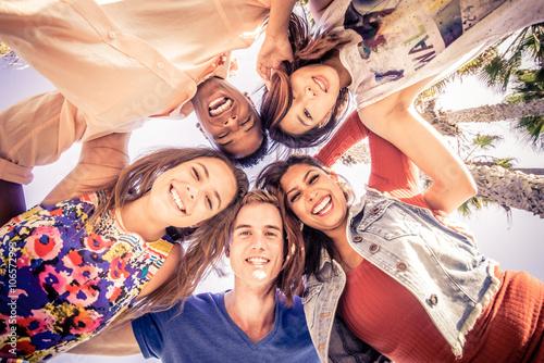 Fotografía  Group of friends having fun