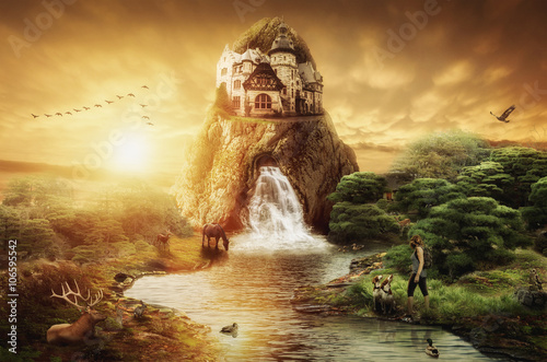 Fotografie, Obraz  Fairy Palace