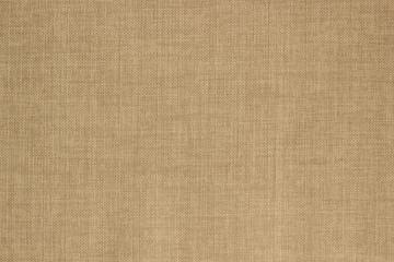 Fototapeta na wymiar Texture beige sack fabric.