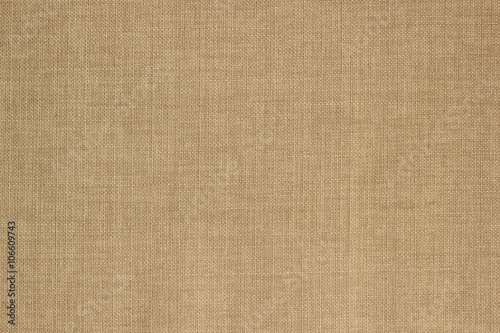 Poster Stof Texture beige sack fabric.