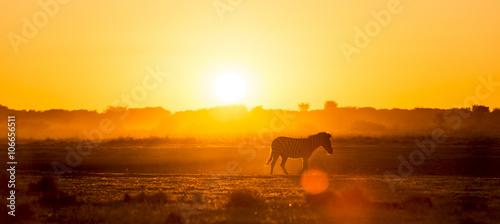 Staande foto Afrika Africa Sunset Landscape