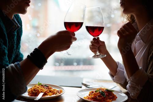 Valokuvatapetti Romantic date