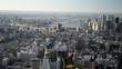 New York panorama aerial view