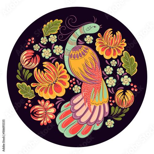 ptak-w-ogrodzie
