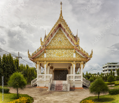 Deurstickers Bedehuis Hua Hin Buddha temple
