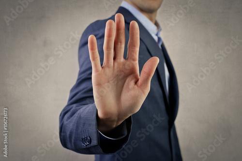 Fototapeta Stop, please! obraz