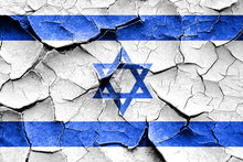 Grunge Israel Flag With Some C...