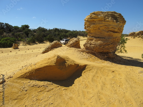 Poster Algérie Pinnacles, Nambung National Park, Western Australia