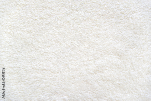 Photo  Beige background of plush fabric
