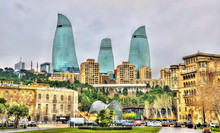 The City Centre Of Baku