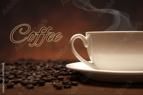 Photo Stands Coffee beans coffee still life