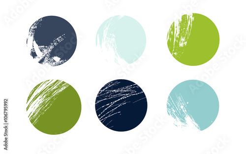 Pennellate e spruzzi di colore