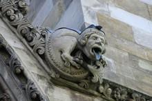 Gargoyle On The Facade Of Westminster Abbey