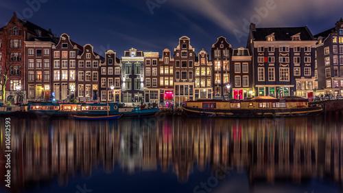 Staande foto Amsterdam Singel Amsterdam