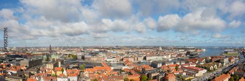 Photo  Panoramic view of Copenhagen