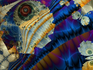 Obraz na Plexi Fractal artwork for creative design