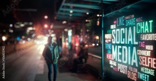 Fotografía  LED Display - Social Media signage