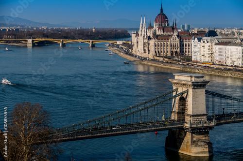 Cuadros en Lienzo Hungría, Budapest, Parlament