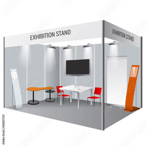Fotografie, Obraz  Creative exhibition stand design