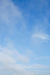 fluffy cloud above blue sky background