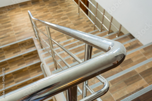 Photo staircase in residential house