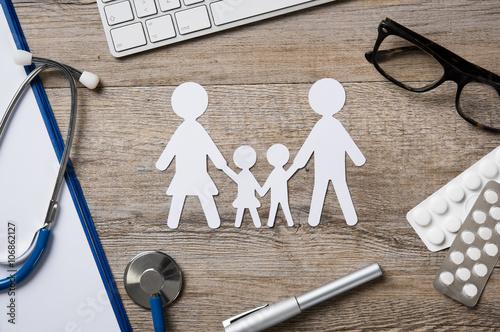 Fotografia  Family healthcare