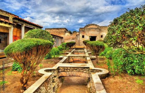 Fotografia House of Julia Felix in Pompeii