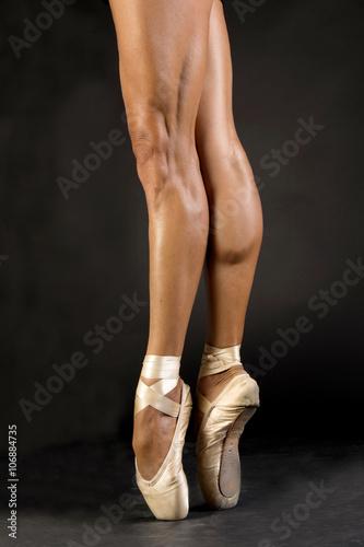 Fotografía  Gambe di Classica bailarina