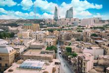 Panorama Of Baku City, Azerbaijan