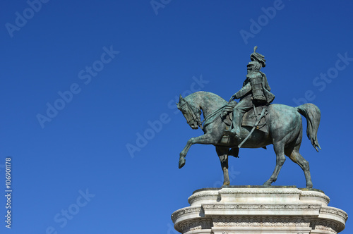 Photo  Vittorio Emanuele II, first king of Italy