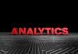 Analytics, 3D Typography