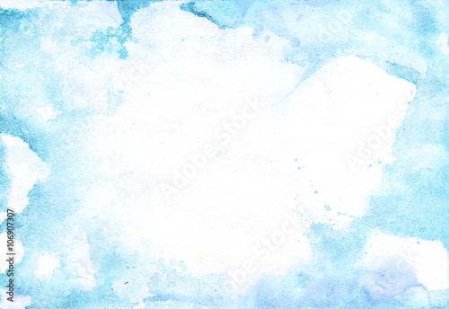 Fotografie, Obraz  Watercolor light background texture