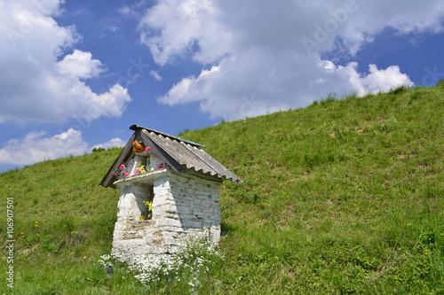 Fotografering  Kapliczka w Izbach