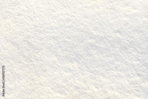 Valokuva  Snowfield in winter