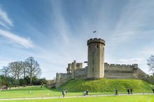 Beautiful Day In Warwick Castle