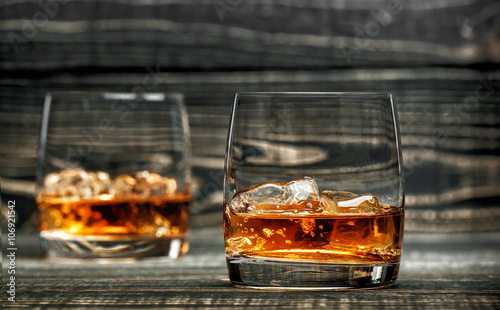 Fotografie, Obraz  glass of hard liquor