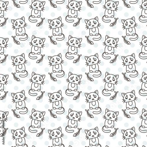 bezszwowy-wzor-sliczni-kotow-charaktery