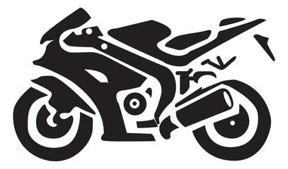 Naklejka Do pokoju młodzieżowego Motorcycle Icons