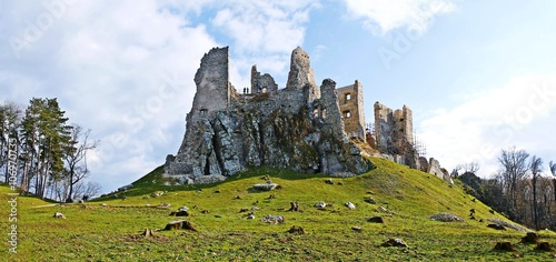 Canvas Prints Ruins Ruins of Castle Hrušov