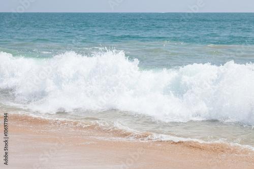 Aluminium Prints Beach Beach in Hikkaduwa