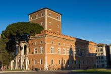 Palazzo Venezia In The Early Morning Light