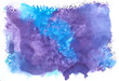 watercolor background purple and blue#2